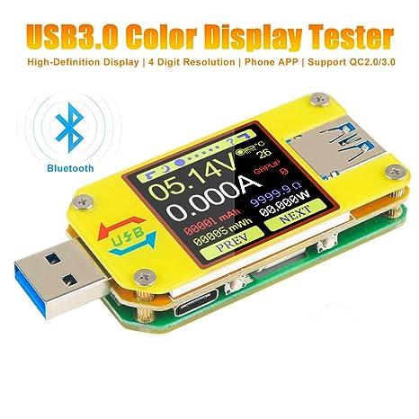 USB Multi-Funktion Tester Spannung Amperemeter Strom Batterie Kapazität Monitor