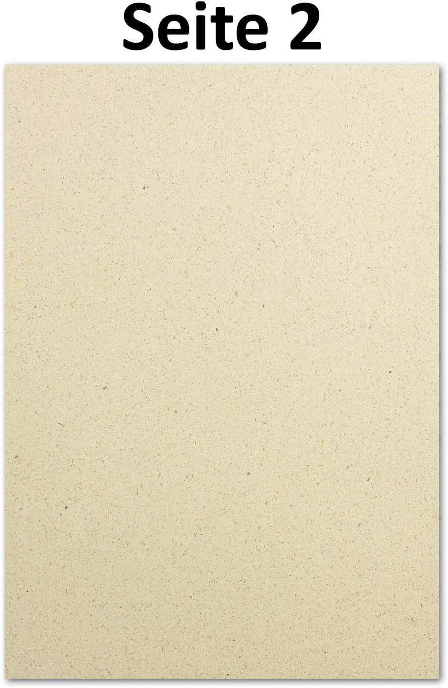 Gl/üxx Agent Umwelt Bastelpapier f/ür Einladungen oder Men/ükarte Braunes Recycling Papier 100 g//m/² 500x /ÖKO Briefpapier aus Graspapier DIN A4