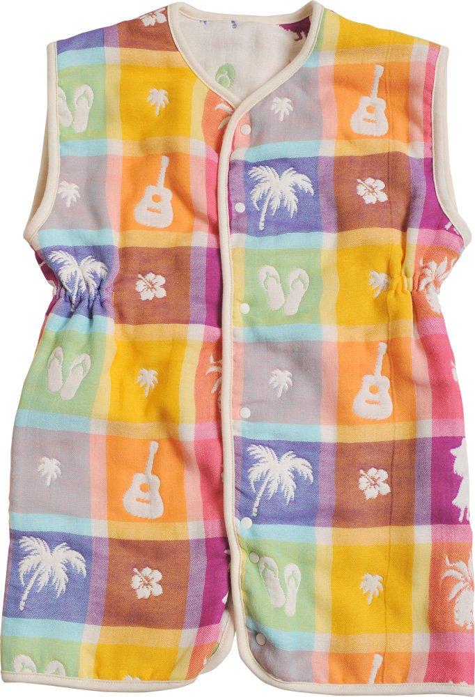 EMOOR 6-Layered Hawaiian Gauze Vest for Babies. Made in Japan by EMOOR