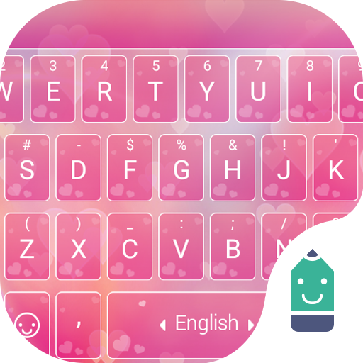 Heart emoji keyboard