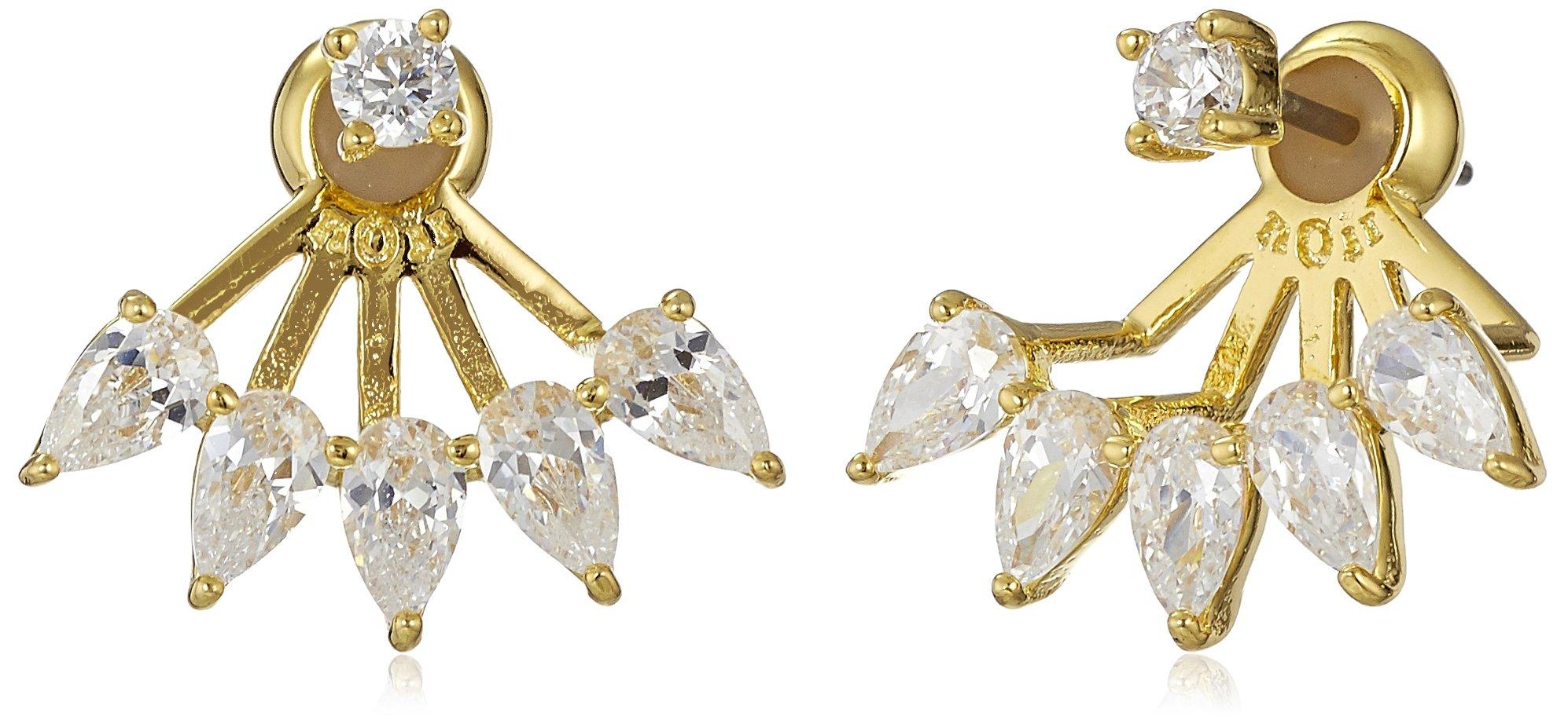 Noir Jewelry Adelaide Gold Earring Jacket
