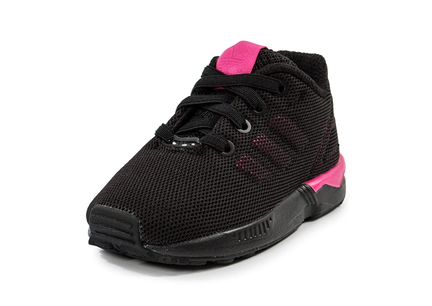 adidas Infant Girls Originals Zx Flux Trainers in Black Pink-Infant Girls:  Amazon.co.uk: Shoes & Bags