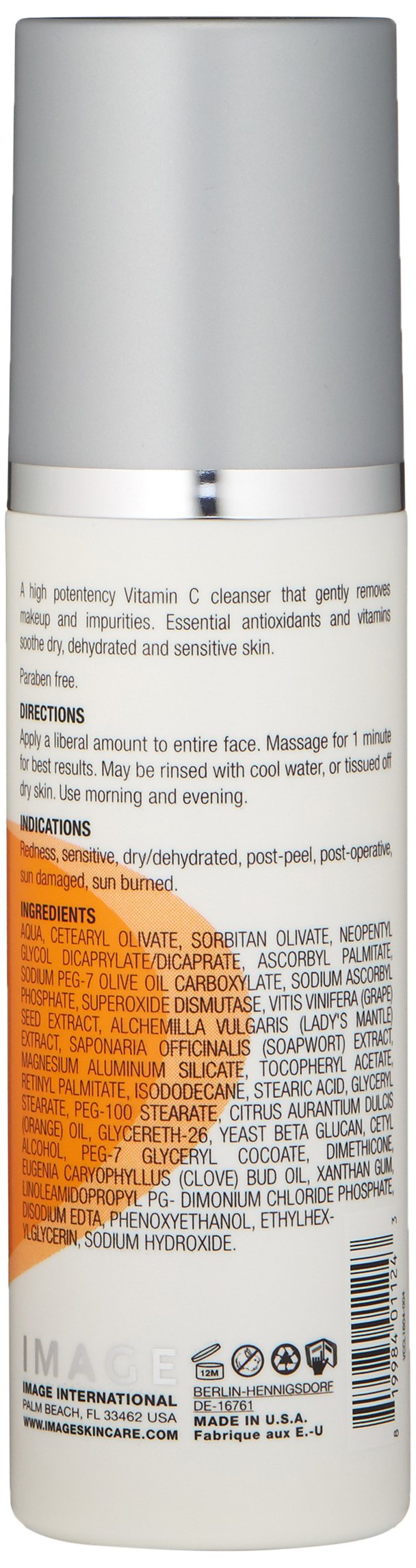 IMAGE Skincare Vital C Hydrating Facial Cleanser, 6 oz. by IMAGE Skincare (Image #2)