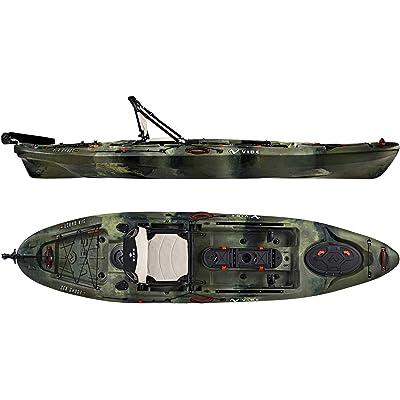 Vibe Kayaks 11-Foot Sea Ghost Sit On Top Fishing Kayak