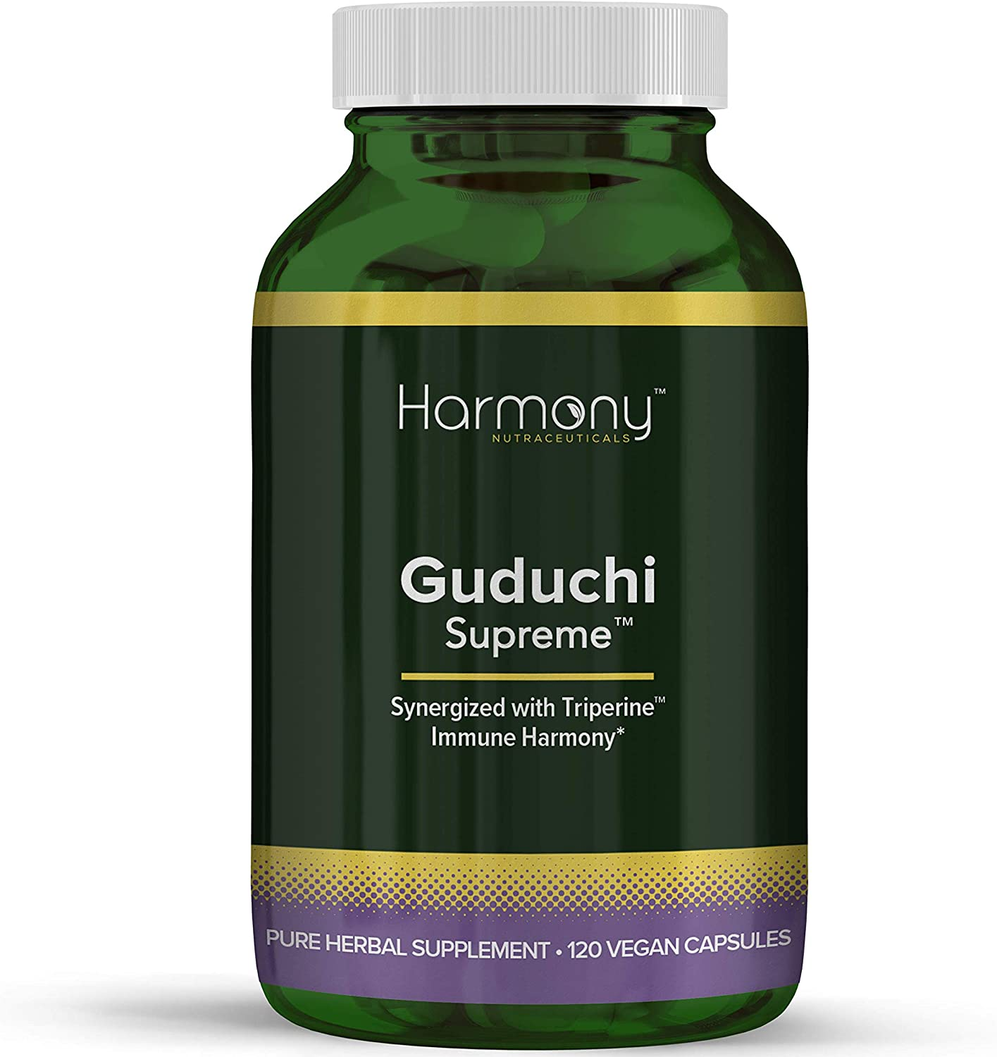 Guduchi Supreme, Highest Potency, Ayurvedic Herbal Immune Support, Organic, 120 Vegan caps, Maximum Bio-Availability