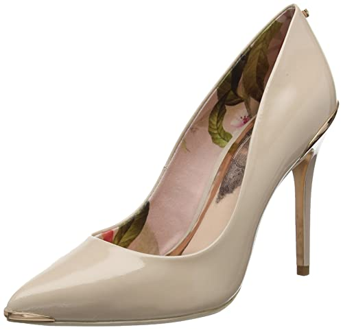 c5ee50f79092b7 Ted Baker Kaawa 2 - Nude Patent Leather Womens Heels 7 US  Amazon.ca ...