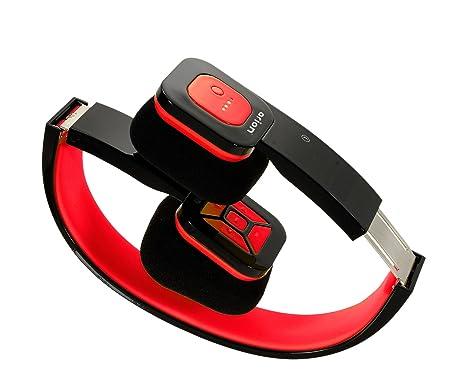 Arion - Cascos Plegables sin Cables (Bluetooth), Color Amarillo y ...