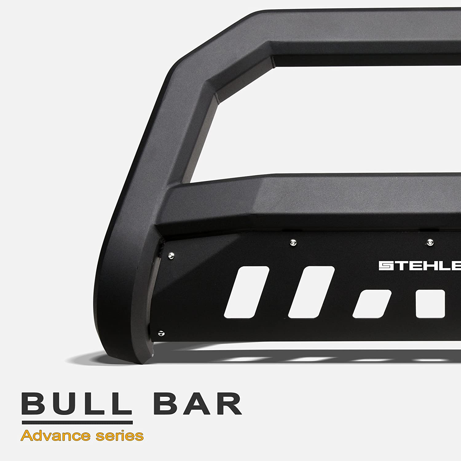 Matte Black Stehlen 714937183773 Advance Series Bull Bar