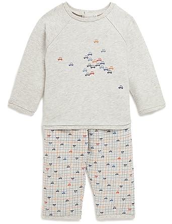 c239b4f07af5d Bout Chou - Pyjama en molleton imprimé voitures - Bébé Garçon - Taille   24