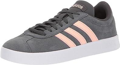 zapatillas de mujer adidas gris serraje