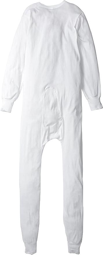 Indera Mens Tall Cotton 1 x 1 Rib Union Suit