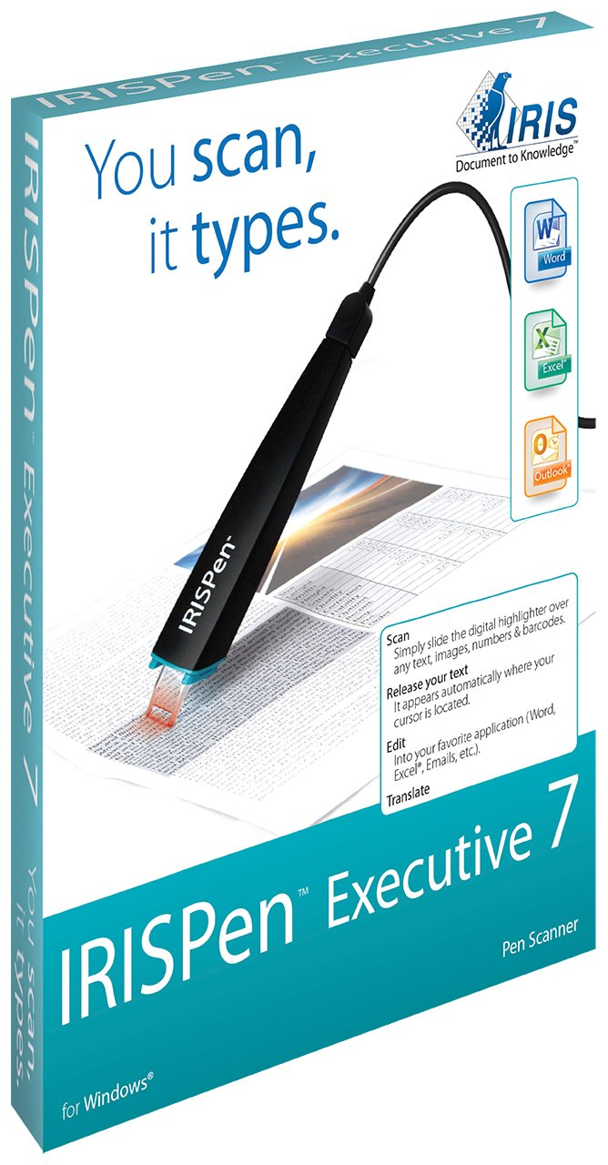 IRIS 457887 Executive 7 IRISPen USB Pen-Scanner by IRIS USA, Inc.