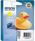 Epson T0554 Cartouche d'encre d'origine Jaune pour R240 245 RX420 425 520