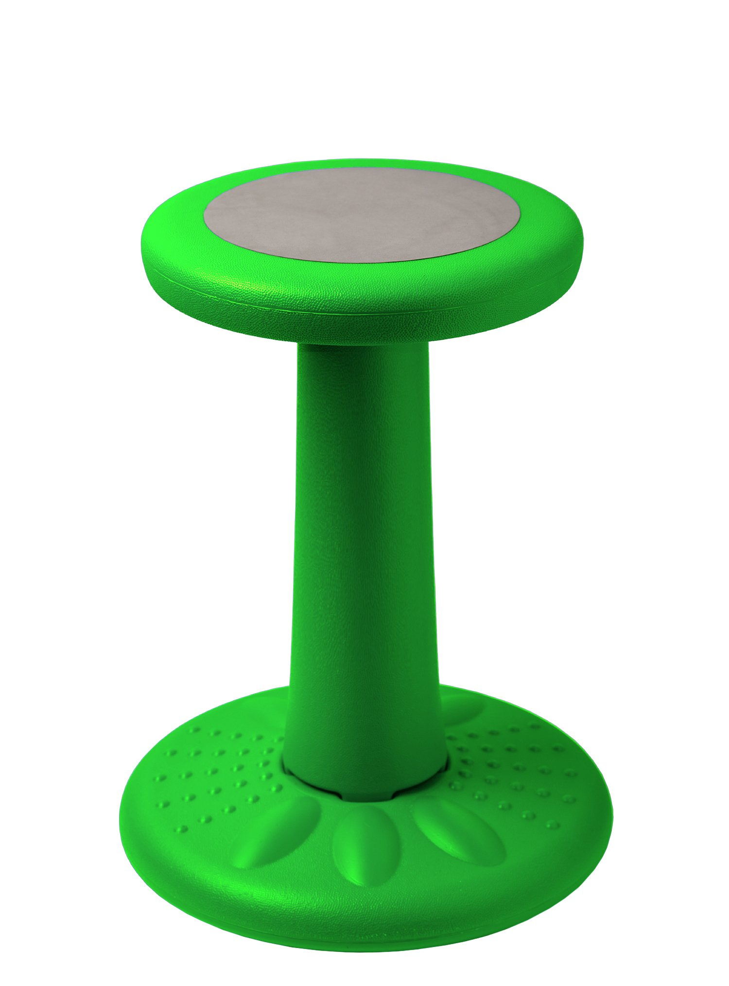Active Kids Chair – Wobble Chair Juniors/Pre-Teens (Grades 3-7) - Age Range 7-12 - Flexible Seating Classroom - 17.75'' Tall - Helps ADD/ADHD - Corrects Posture – Green