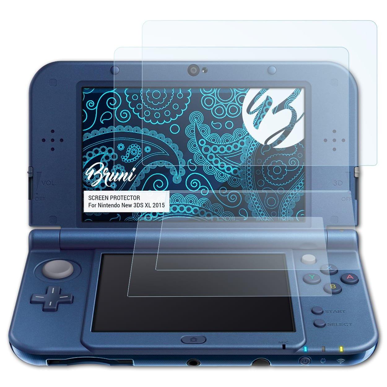 Bruni Película Protectora para Nintendo New 3DS XL 2015 ...