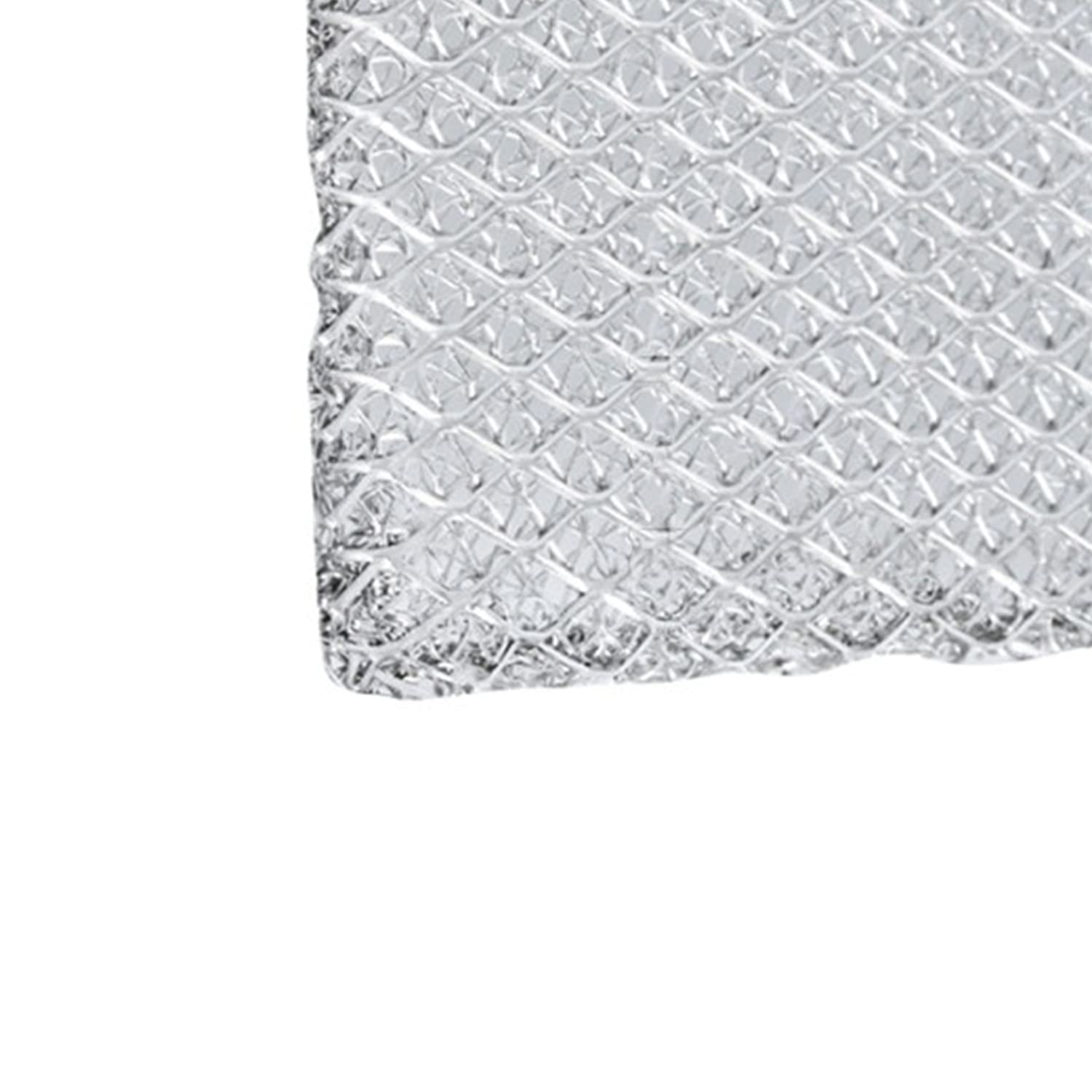 450 x 280mm SPARES2GO Universal Silver Aluminium Mesh Only Filter for Select models of Cooker Hood