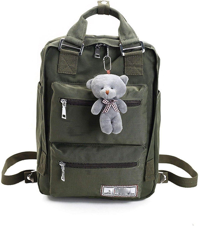 Backpack Teenage Backpacks For Girls School Bag Backpacks Women Double Zipper Large Capacity