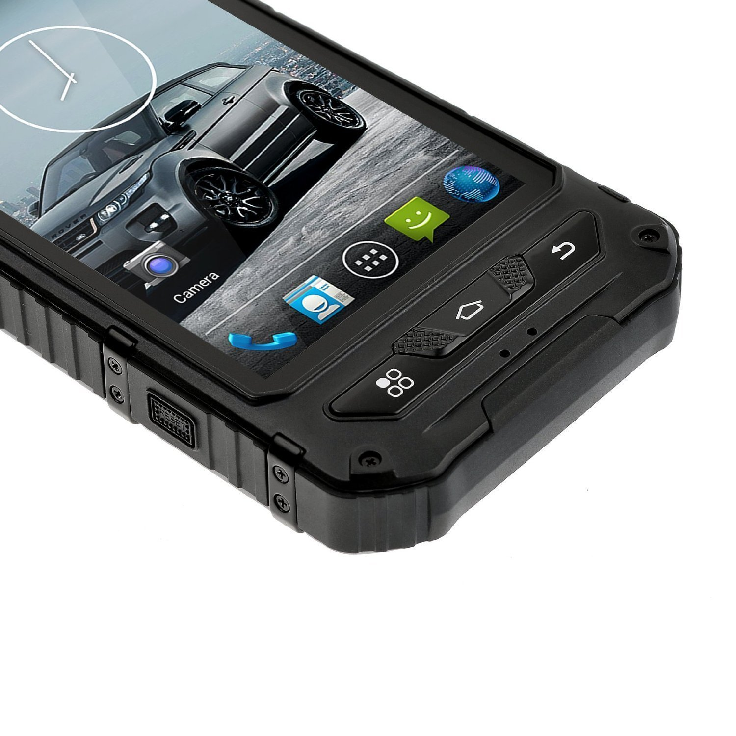 Amazon.com: Sudroid A8 4 Inches IP68 Rugged Smartphones With Android 4.4.2  Os And Quad Core Dual Sim Supporting NFC (Black): Cell Phones U0026 Accessories