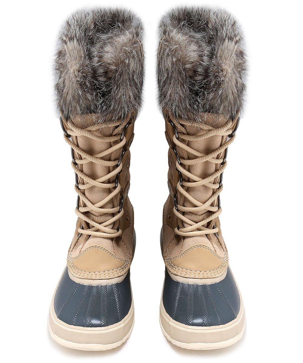 Sorel Women's Joan of Arctic Boots, Oatmeal, 10 B(M) US by SOREL (Image #3)