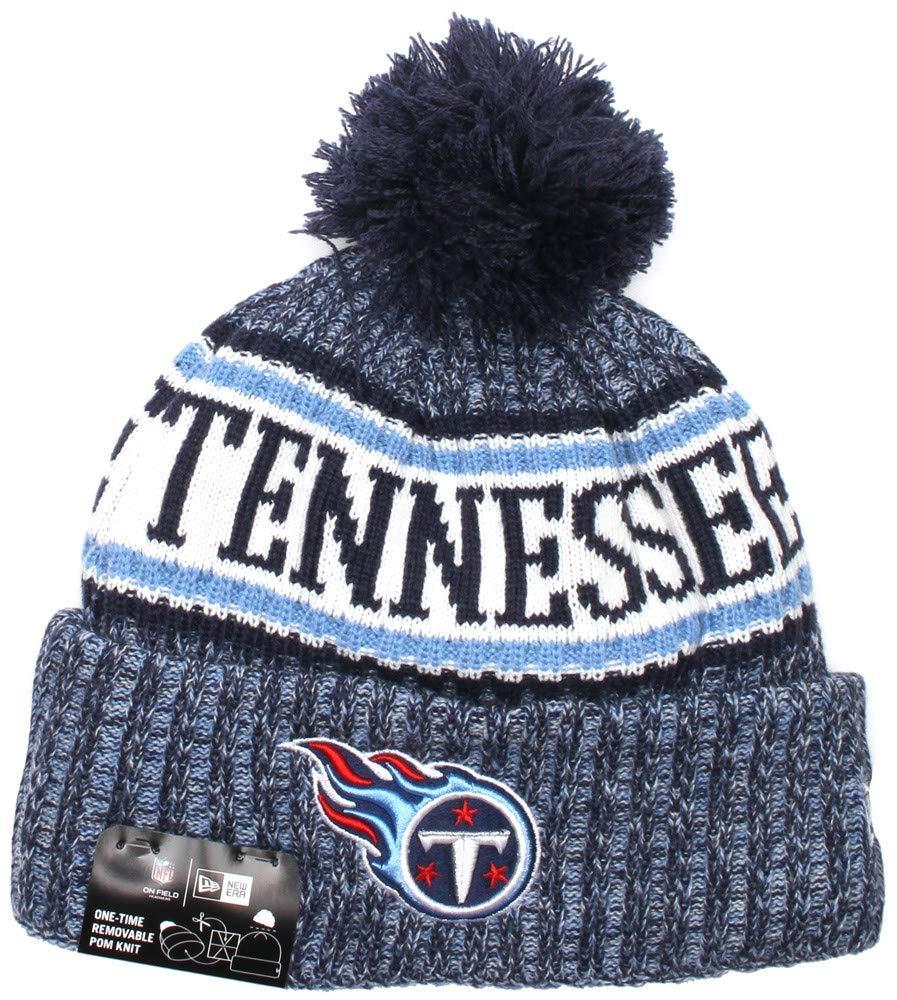 a4b139b8e68fe0 Amazon.com : New Era Tennessee Titans NFL On Field 18 Sport Knit Beanie  Beany Mütze : Sports & Outdoors