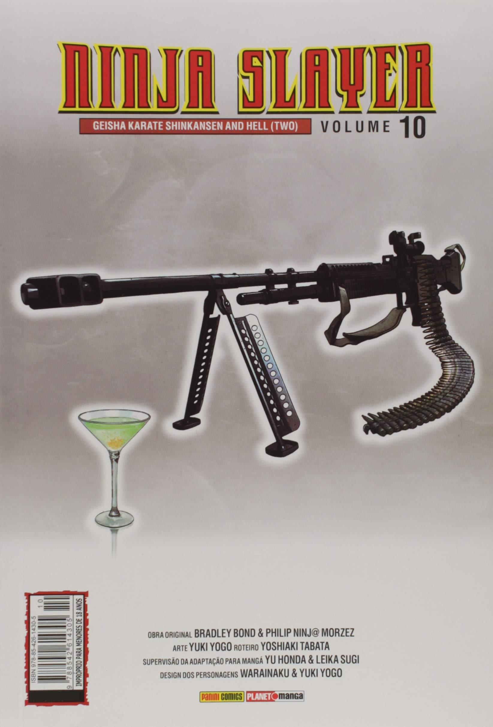 Ninja Slayer - Volume 10: Yoshiaki Tabata: 9788542614305 ...