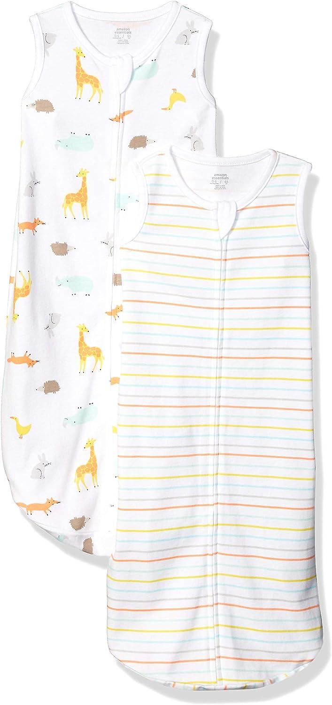 Amazon Essentials 2-Pack Cotton Baby Sleep Sack
