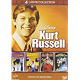 Disney 4-Movie Collection: Kurt Russell (Strongest Man in World / Computer Wore Tennis Shoes / Horse in the Grey Flanel / Now