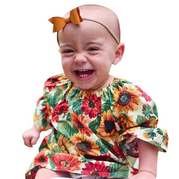 Vestido de niña, Koly Ropa Bebé Niñas Bordado Calado Casual Vestido Niña Princesa Vestir Vestidos