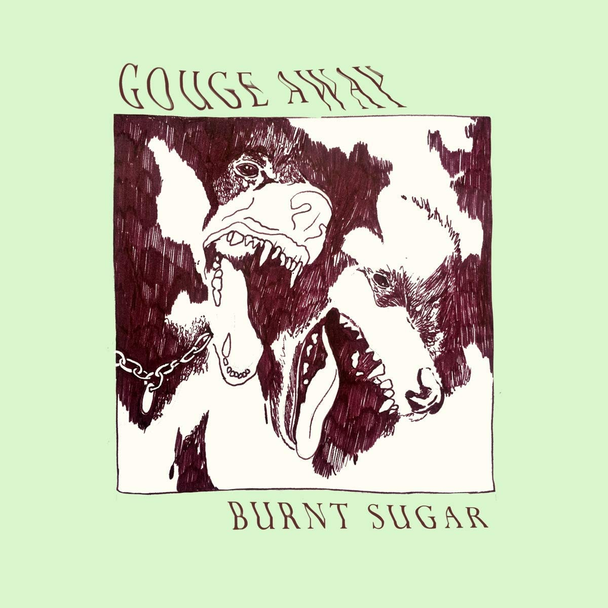 Cassette : Gouge Away - Burnt Sugar (Cassette)