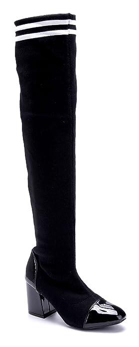 b28d3b517a9e5 Schuhtempel24 Damen Schuhe Overknee Stiefel Stiefeletten Boots ...