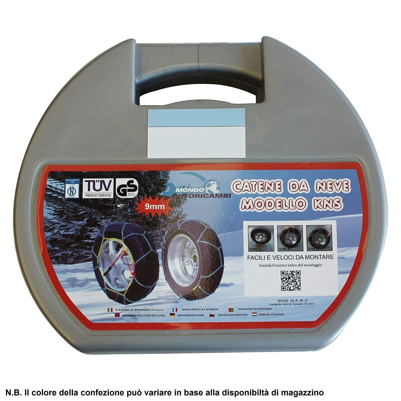 Kawin Catene da Neve 225 65 17 OMOLOGATE 225//65-17 9mm R17