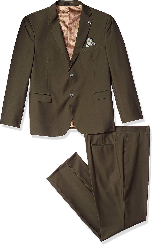 STACY ADAMS Men's Bud Vested Slim Fit Suit