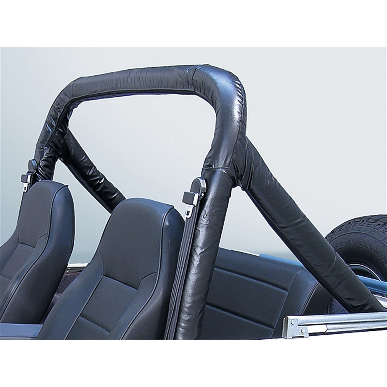 Jeep Wrangler & CJ Roll Bar Cover Kit (1978-1991)