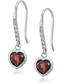 925 Silver Rhinestone Chain Fringe Earrings Statement Earrings Tassel Purple Crystal Raindrop Rain Cloud Hollow Earrings Bling Earrings