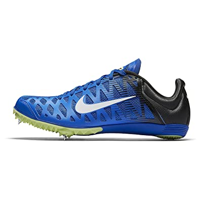 new arrival d97c7 ee4ec Image Unavailable. Image not available for. Color  Nike Zoom Maxcat Track  Spikes Shoes Mens Size 11 (Blue, White, Black)