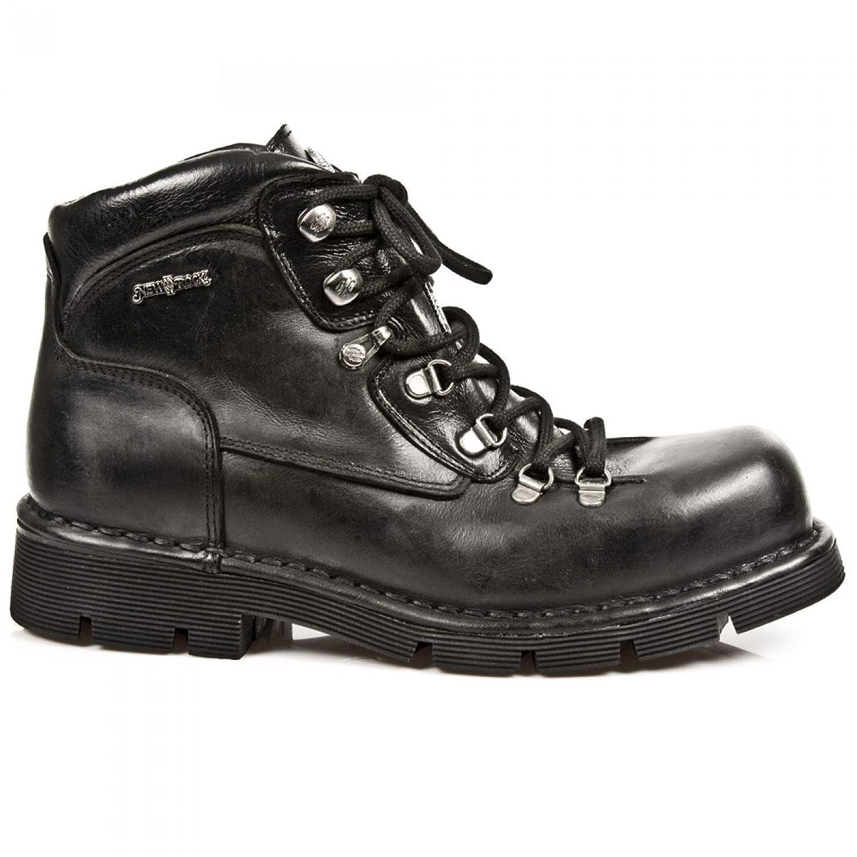 New Rock Boots M.1344 C4 Punk Hardrock Gothic Herren Stiefelette Schwarz