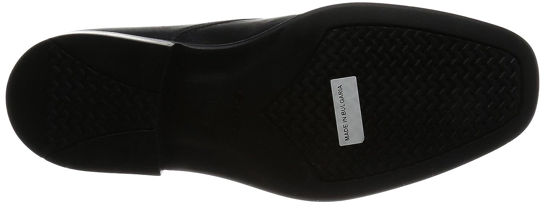 Geox U FEDERICO W, (schwarzc9999) Herren Derby Schnürhalbschuhe Schwarz (schwarzc9999) W, 2a3910