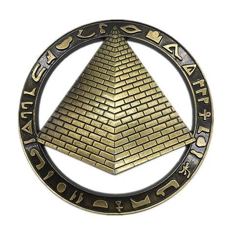 Weekinglo Souvenir Pirámide Egipto Imán de Nevera 3D de Metal ...