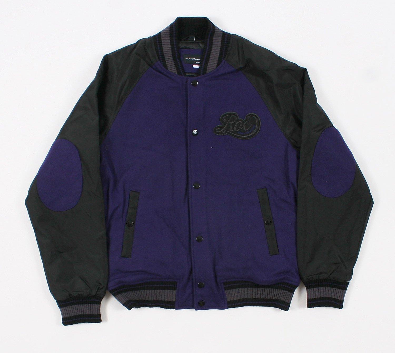 Rocawear 1159R Purple Mens Varsity Jacket Size XL