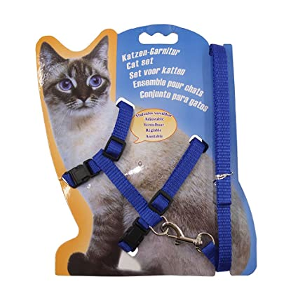 Cat Supplies Other Cat Supplies 2019 Latest Design New Ship Nylon Cat Harness And Lead