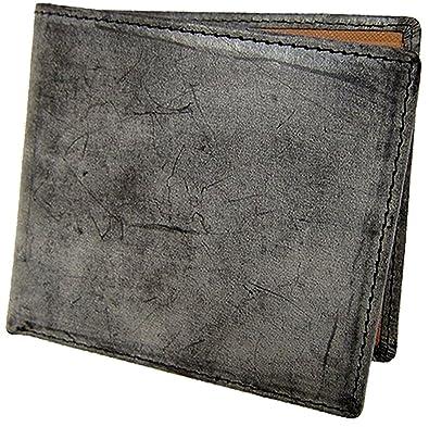 6af0ed3917f8 Amazon | 最高級の逸品!ブライドルレザー 財布 [otokosaifu] 牛革 二 ...