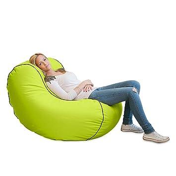 Lumaland Luxury Lounge Chair Sitzsack Stylischer Beanbag 320l