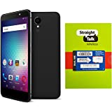 "Straight Talk Phone Energy Unlocked Android 6.0 Compatible with Straight Talk Net10 5.5"" HD Screen 4900 mAh Super Battery WiFi GPS Tether + FREE Straight Talk SIM Card"