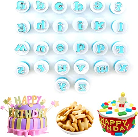 26 alphabet Pâtisserie Biscuit Cookie Lettres Cutters Acier Inoxydable bricolage Outil à main