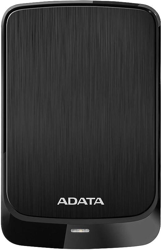ADATA(エイデータ) AHV320-5TU31-CBK(ブラック) 外付けポータブルHDD TV・レコーダー対応 [USB3.1対応/5TB] HV320シリーズ
