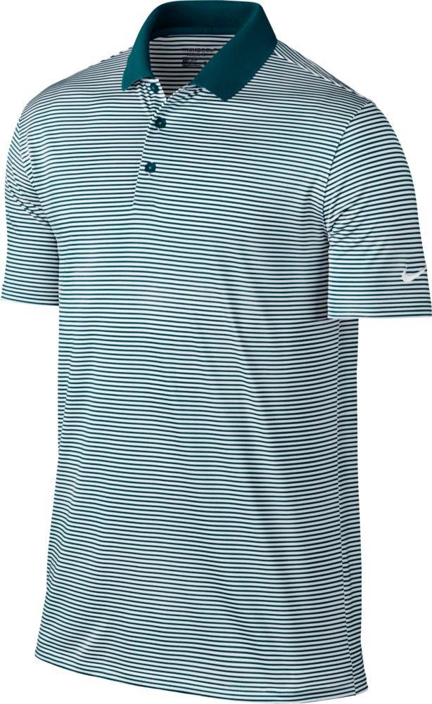 Nike Victory Mini Stripe Polo-Small-Pitch Blue