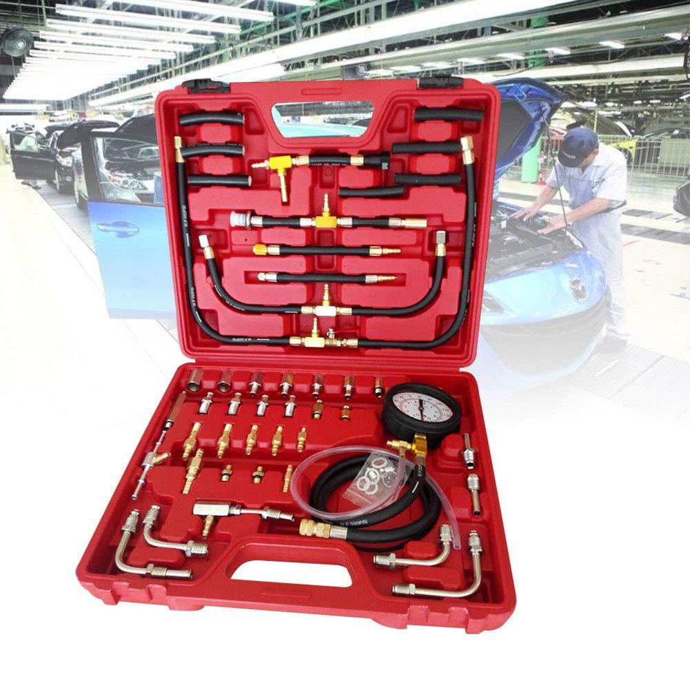 US DELIVER Fuel Pressure Gauge Oil Pressure Tester Automotive Tool 0-140 psi