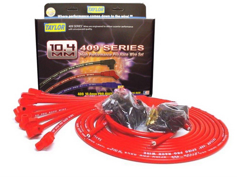 Taylor Cable 79251 409 Pro-Race Spiro-Wound Core Spark Plug Wire Set