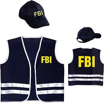 WIDMANN 58957 infantil Disfraz FBI, X ? Small: Amazon.es: Juguetes ...