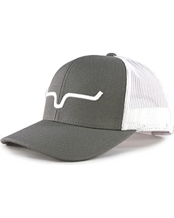 5f7fd094 Kimes Ranch Weekly Trucker Charcoal/White Snapback Hat at Amazon ...